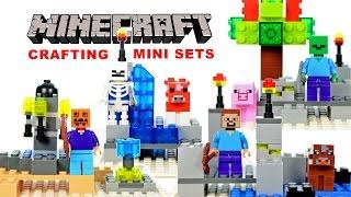LEGO Minecraft Crafting Mini Sets KnockOff Minifigures Set 1 (LeLe)