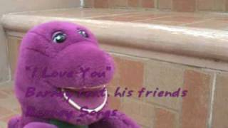 Barney I Love You Song Surprise