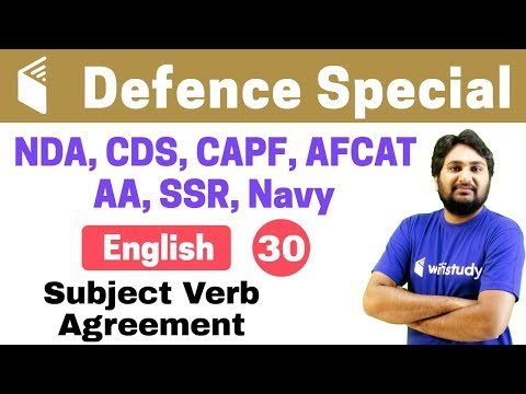 Xxx Mp4 7 00 PM NDA CDS CAPF AFCAT 2018 English By Harsh Sir Subject Verb Agreement 3gp Sex