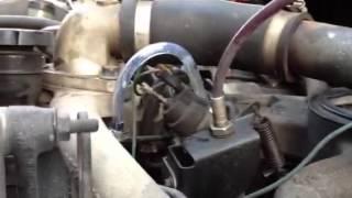 H1 Hummer fuel system