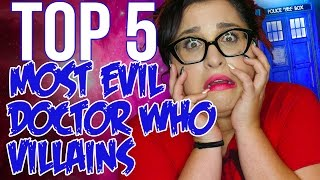 Top 5 Most Evil Doctor Who Villains // Dark 5 #12 | Snarled
