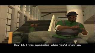 Grand Theft Auto: San Andreas - (Final) Mission #96 & Credits - End Of The Line