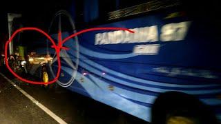 Tabrakan Karambol Bus Pandawa 87, PO Dinoyo Putro,  Mini Bus Kijang, Alas Baluran 7 April 2018