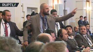 انسحاب المعارضة السورية من قاعة مفاوضات أستانا
