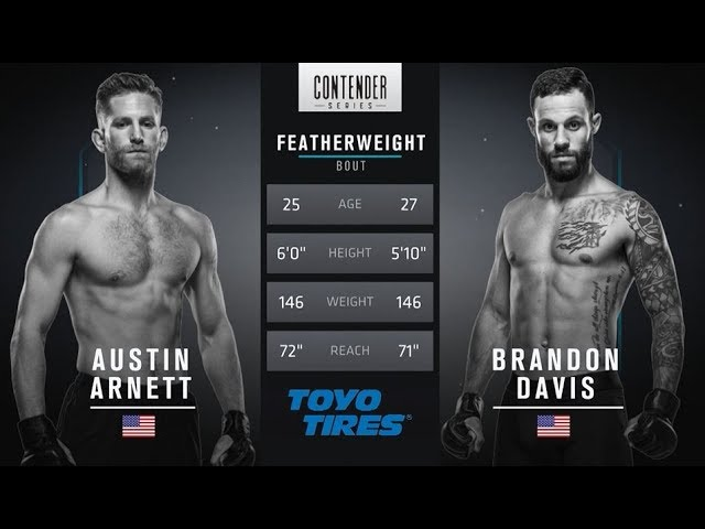 FREE FIGHT | Davis Wins Incredible Fight | DWTNCS Week 4 Contract Winner