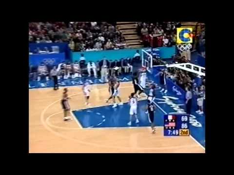 watch 2000 Team USA Olympic Basketball Best Plays