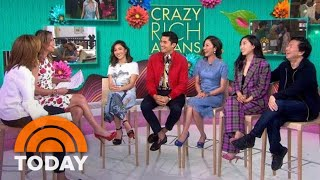 'Crazy Rich Asians' Cast On The Film's Impact On Representation In Hollywood   TODAY