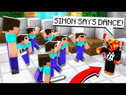 PRESTONPLAYZ VS NOOBS Minecraft Simon Says Murder Mystery