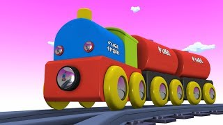 Kids Videos for Kids - Cartoon Train - Toy Factory Toys - Train Toy - thomas and friends - trains