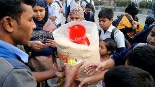 School Side Street Food Students Favorite Street Food Jhal muri Muri Makha Bengali Spicy Muri Vorta