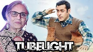 Mother Salma Khan Becomes Produces For Salman's Tubelight | Revealed On Poster