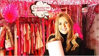 SNEAK PEEK: Benefit Cosmetics All Pink Charity Shop for Bold Is Beautiful In Glasgow