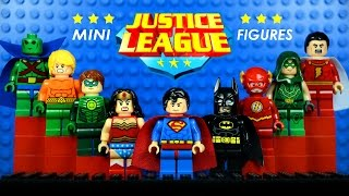 LEGO Justice League DC Superheroes KnockOff Minifigures w/ Superman Batman & Wonder Woman