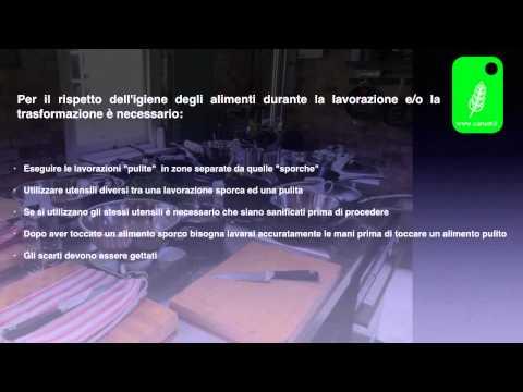 Manuale HACCP contaminazioni crociate