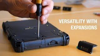 Handheld ALGIZ 8X: Versatility with expansions