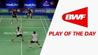 Play Of The Day | Badminton R16 - Yonex Denmark Open 2016