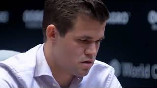 Only Carlsen can find the Re7 winning move in few seconds against Caruana