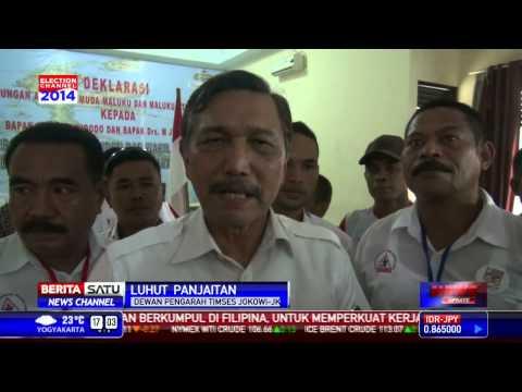 Deklarasi Aliansi Pemuda Maluku dan Maluku Utara Dukung Jokowi JK