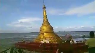 Myanmar pagoda collapse due to heavy rain