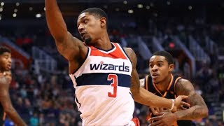 Bradley Beal 34 Points Coming off Career High Game! Wizards vs Suns 2017-18 Season
