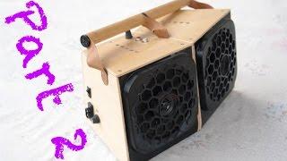 Home made loudspeaker enclosure - Part 2