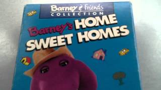 BARNEY VIDEO - BARNEY'S HOME SWEET HOMES - LYONS EDITION VHS
