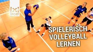 Volleyballtraining für Kinder und Jugendliche - Spielerisch Volleyball lernen mit neuen Übungen