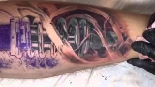 Tattoo artist András Gombos TURANIUM TATTOO MACHINE