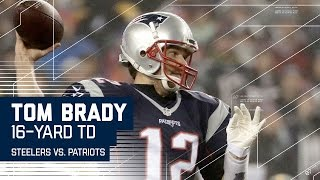 Tom Brady Leads Efficient 80-yard TD Drive! | Steelers vs. Patriots | AFC Championship Highlights