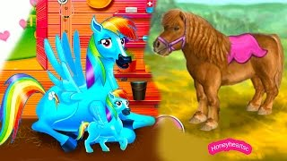 Rainbow Dash Baby + Jumping - Let