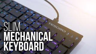 The Slimmest Mechanical Keyboard Around?