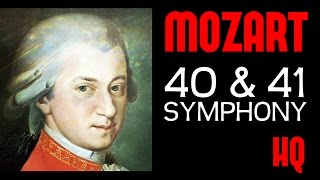 Wolfgang Amadeus Mozart - Symphony 40 & 41(1 Hour Classical Music) [Full Recording HQ]