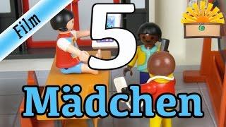 5 ARTEN von MÄDCHEN! Playmobil Film deutsch | Zicke, Pferde und Jungs