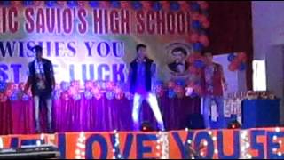 cool dance performance by students of dominic