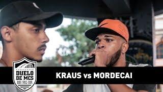 Kraus vs Mordecai (2ª Fase) - Duelo de MCs - Tradicional - 13/08/17