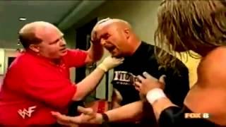 Undertaker attacks Stone Cold Steve Austin