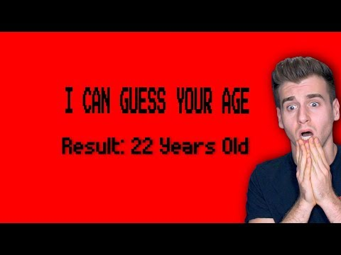 Can This Video Actually Guess Your Age Height and Name YES