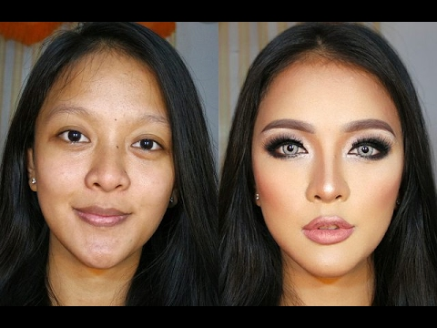Transforming 3D Contour Makeup Tutorial for Indonesian