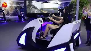 6 DOF Three Screen Simutator Car Racing