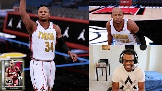 NBA 2K16 PS4 MyTEAM - THROWBACK RAY ALLEN DEBUT!!
