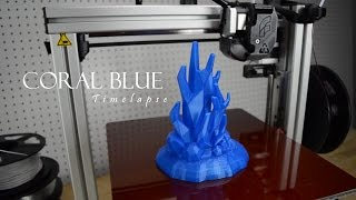 3D Printing Time-Lapse - Coral Blue