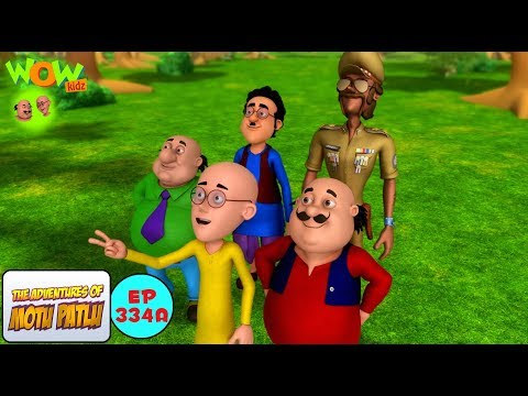 Dr.Jhatka ka umbrella - Motu Patlu in Hindi - 3D Animation Cartoon for Kids -As seen on Nick