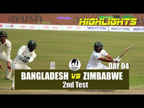 Xxx Mp4 Bangladesh Vs Zimbabwe Highlights 2nd Test Day 4 Zimbabwe Tour Of Bangladesh 2018 3gp Sex