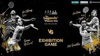 LIN Dan & PV Sindhu vs LEE Chong Wei & Saina Nehwal [Yonex Legends Vision India ]