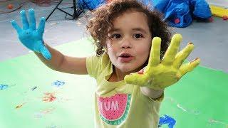 Painting With Ashlynn   Teaching Colors   Ashlynn Joy