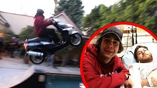 THIS STUNT PUT HIM IN THE HOSPITAL!!
