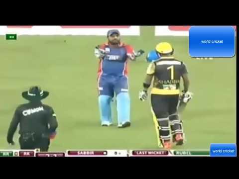 Xxx Mp4 Sabbir Rahman And Shahzad Fight BPL 2016 Cricket History Bangladesh Cricket Fight 3gp Sex