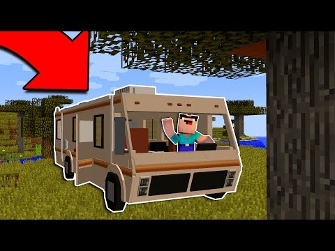 CAMPING IN MINECRAFT!?!