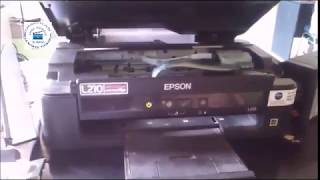 How to Reset Epson L110, L210, L300, L350 & L355 - Solved  Red Light Blinking Epson L Series