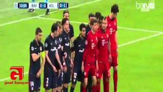 Resumen de vuelta Champions Atlético de Madrid vs Bayer munich( 2-1 )3/5/16